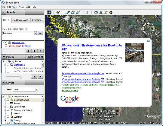 Googleearthnews