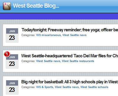 West Seattle Blog going Mobile - Data Mining: Text Mining