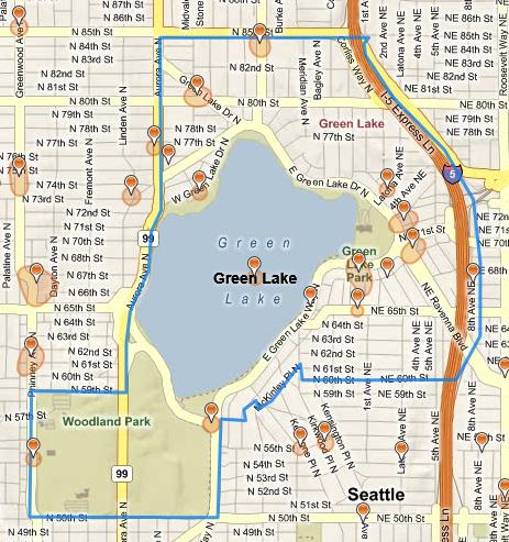 green lake seattle map Mygreenlake Is Green Lake Data Mining Text Mining green lake seattle map