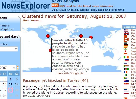 Newsexplorer